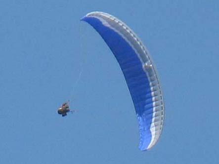 滑翔伞教程-摆荡(Wingovers)
