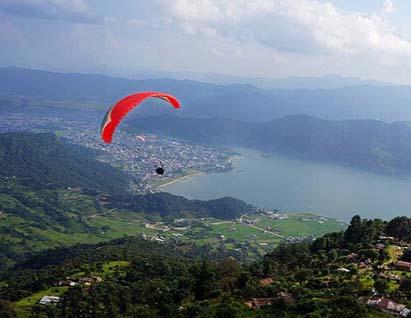 正确的滑翔伞螺旋下降