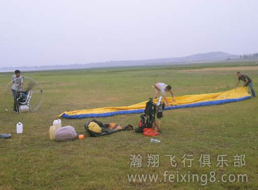 一望无际的飞行训练场地
