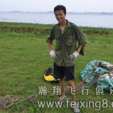 青海西宁滑翔伞学员阿董的多彩人生