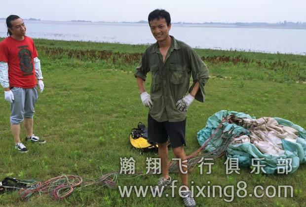 青海西宁滑翔伞学员阿董