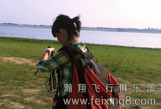 济南滑翔伞学员