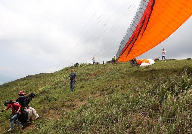 中国航协双人滑翔伞考核表
