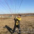 放飞梦想放飞希望-放飞的江苏滑翔伞