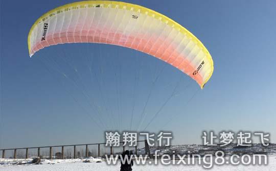瀚翔飞行使用的ozone滑翔伞