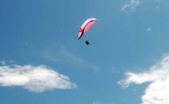滑翔伞乱流的处理