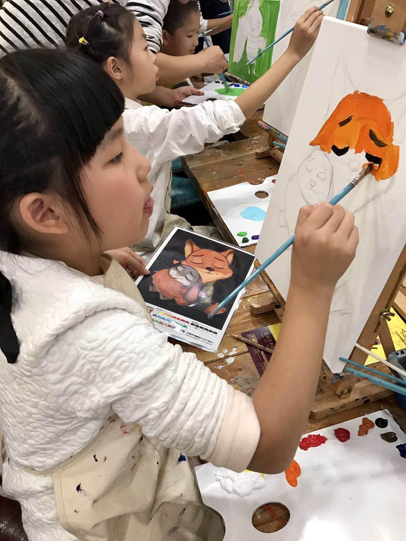 亲子DIY艺术与哲学油画体验课