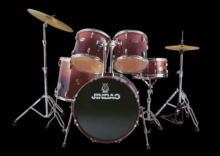 津宝JBM0211高级五音/七音爵士鼓