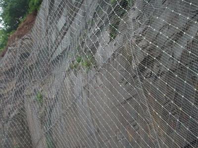厂家生产 被动边坡防护网 SNS边坡柔性防护网
