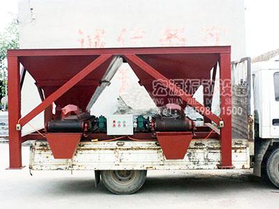 防汛沙袋装袋机