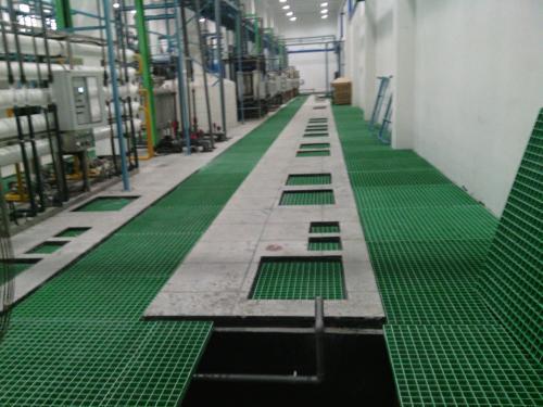 热镀锌玻璃钢格栅平台