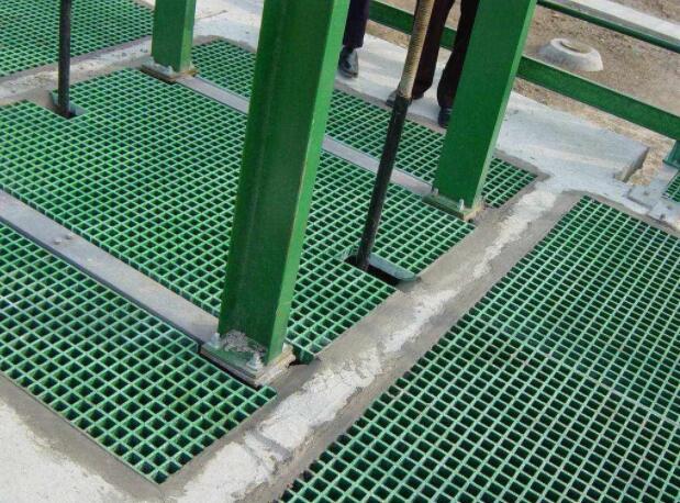 玻璃钢格栅平台