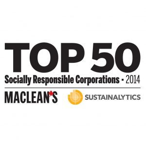 TOP 50 SOCIALLY RESPONSIBLE CORPORATIONS [Print]