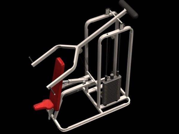 3d健身器材模型1
