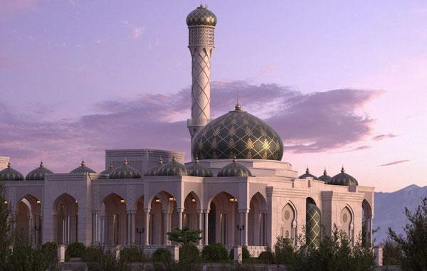素材 3d 风景建筑 3dmax高精度阿拉伯建筑 3dmax高精度 vray阿拉伯