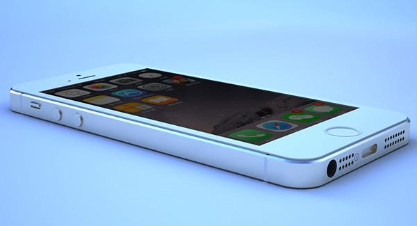 素材 3d 生活物件 iphone5s手机模型 5s iphone 材质 高清 手机模型