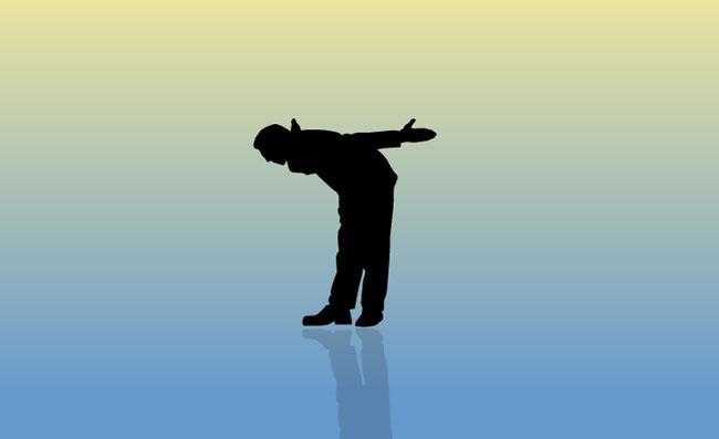 素材 flash 个性设计 人物素材 致谢姿势 矢量素材 弯腰鞠躬