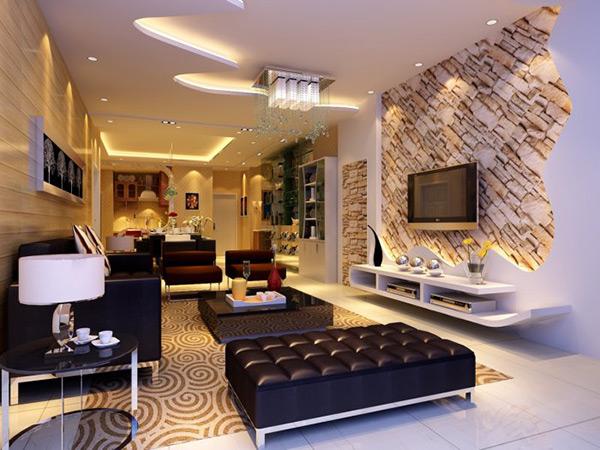 现代客厅模型图片
