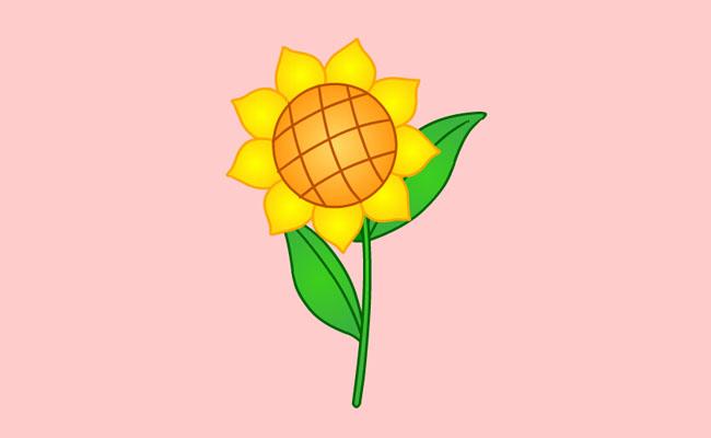 金色向日葵flash植物动画_个性设计_flash_素材-妙意