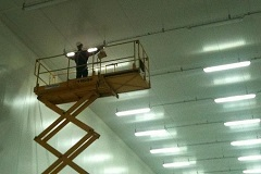 LED tube for warehouse in France