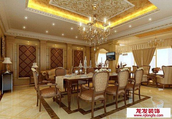 南京龙发装饰谈欧式别墅装修设计的注意事项与个性化