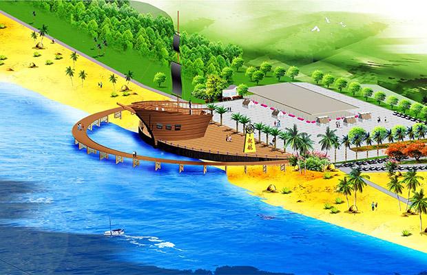 汕尾沙滩公园景观规划设计