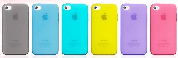 色彩样式非常多的塑料手机壳