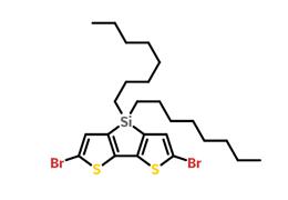 5,5'-二溴-3,3'-二辛基硅烷亚基-2,2'-联噻吩