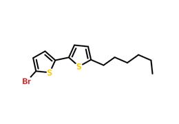 5-溴-5′-己基-2,2′-联噻吩