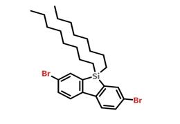 2,7-二溴-9,9-二辛基-9H-9-硅杂芴