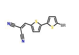 2-((5'-bromo-2,2'-bithiophen-5-yl)methylene)malononitrile