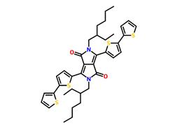 3,6-bis(2,2'-bithiophene-5-yl)-2,5-bis(2-ethylhexyl)-2,5-dihydropyrrolo[3,4-c]pyrrole-1,4-dione