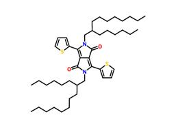 2,5-二(2-己基癸基)-3,6-二(噻吩基-2-)-吡咯并吡咯二酮