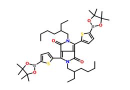 2,5-二(2-乙基己基)-3,6-二(5-硼酸频哪醇酯噻吩基)-吡咯并吡咯二酮