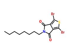 2,5-二溴-N-正辛基-3,4-噻吩二甲酰亚胺