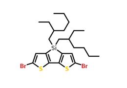 2,6-二溴-4,4-双(2-乙基己基)-4H-硅杂环戊二烯并[3,2-b:4,5-b']二噻吩