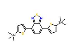 4,7-双(2-三甲基硅烷基噻吩-5-基)-2,1,3-苯并噻二唑