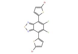 4,7-二(5-溴噻吩基-2-)-5,6-二氟-2,1,3-苯并噻二唑