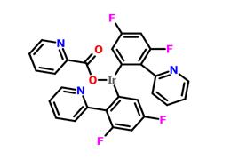 双(4,6-二氟苯基吡啶-N,C2)吡啶甲酰合铱