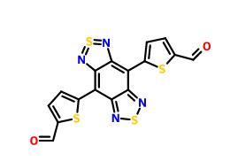 4,8-二(5-醛基噻吩-2-基)苯并[1,2-c:4,5-c']双([1,2,5]噻二唑)
