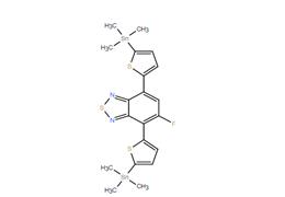 4,7-二(5-三甲基锡噻吩基-2-)-5-氟-2,1,3-苯并噻二唑