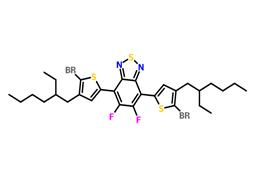 5,6-二氟-4,7-双(5-溴-4-(2-乙基己基)-2-噻吩基)-2,1,3-苯并噻二唑