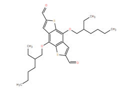 2,8-bis[(2-ethylhexyl)oxy]-4,10-dithiatricyclo[7.3.0.0³,⁷]dodeca-1,3(7),5,8,11-pentaene-5,11-dicarbaldehyde