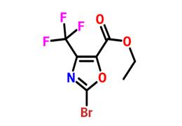2-溴-4-三氟甲基-5-恶唑甲酸乙酯