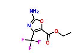 2-氨基-4-三氟甲基噁唑-5-羧酸乙酯