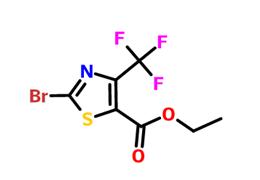 2-溴-4-三氟甲基噻唑-5-甲酸乙酯