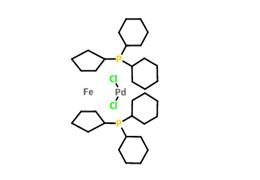 二氯[1,1'-双(二环己基膦)二茂铁]钯(II)