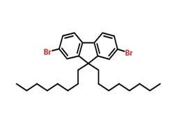 9,9-二辛基-2,7-二溴代芴