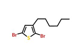 2,5-二溴-3-己基噻吩