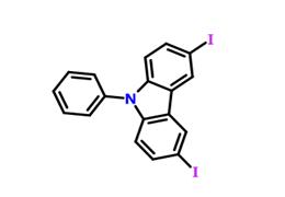 3,6-二碘代-N-苯基咔唑
